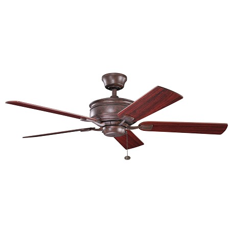 Kichler Tannnery Bronze 52In. Indoor Ceiling Fan With 5 Blades