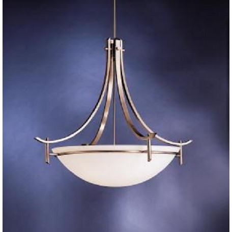 Kichler Antique Pewter Olympia 5 Light 36in Wide Pendant
