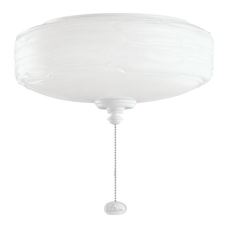 Kichler One Light White Fan Light Kit