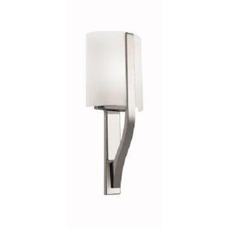 Kichler Polished Nickel Contemporary Single Light Wall Sconce
