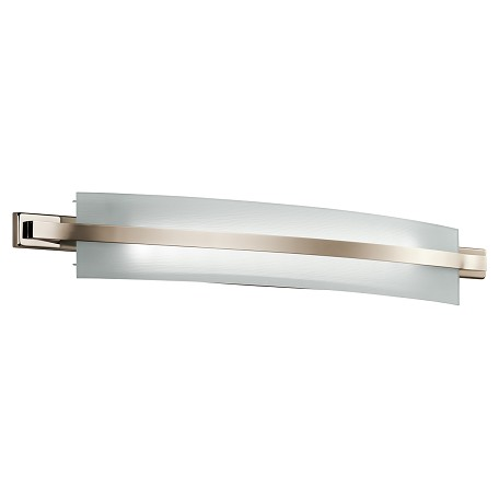 Kichler Polished Nickel Freeport 36In. Wide 4-Bulb