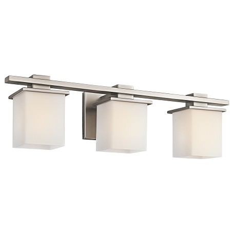 "Kichler Kichler 45151Ap Antique Pewter Tully 24"" Wide 3-Bulb Bathroom Fixture"