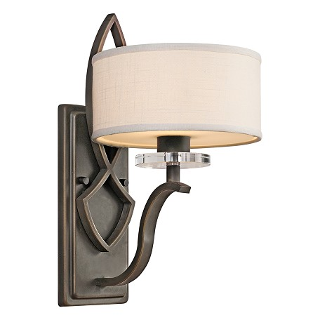 Kichler Olde Bronze Single Light Wall Sconce From The Leighton Collection