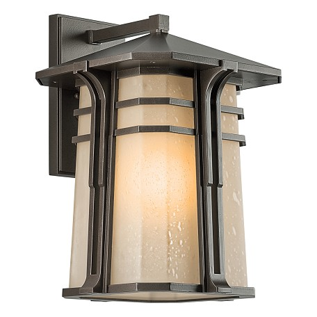 "Kichler Bronze North Creek 1 Light 18"" Energy Efficient Fluorescent Outdoor Wall Light"