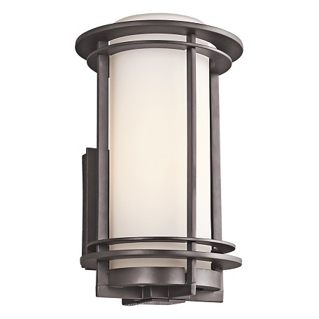 "Kichler Architectural Bronze Pacific Edge Collection 1 Light 13"" Outdoor Wall Light"