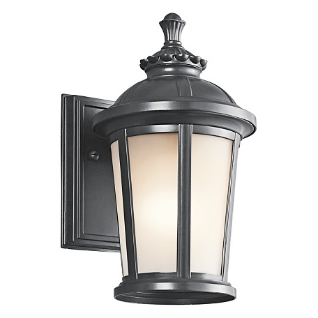 "Kichler Black (Painted) Ralston Collection 1 Light 11"" Outdoor Wall Light"