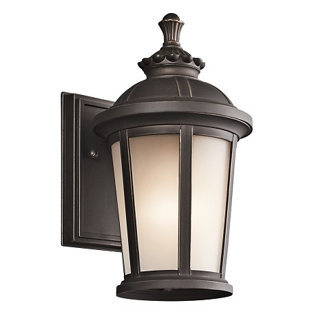 Kichler Rubbed Bronze Ralston Collection 1 Light 11In. Outdoor Wall Light