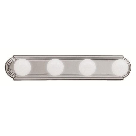 Kichler Brushed Nickel Bath Amp Vanity 24in Wide 4 Bulb