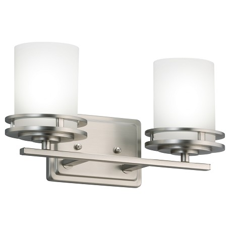 Kichler Brushed Nickel Hendrik Vanity Light - 14.5In. Wide