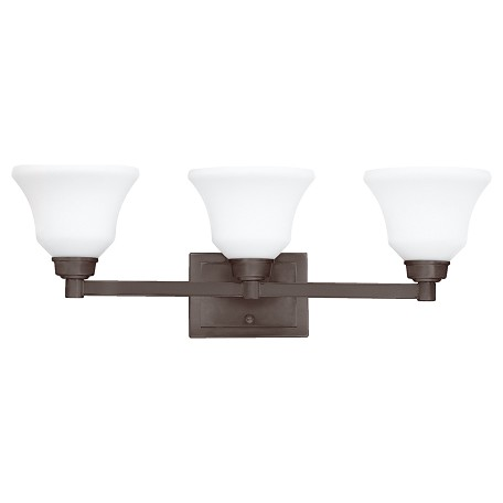 Kichler Three Light Olde Bronze Vanity