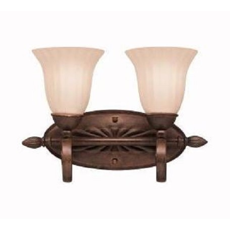 Kichler Two Light Tannery Bronze Vanity