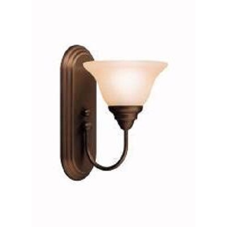 Kichler Olde Bronze Modern One Light Reversible Wall Sconce