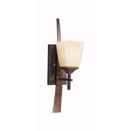 Kichler Marbled Bronze Single Light Wall Sconce From The Souldern Collection