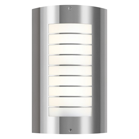 Kichler Polished Stainless Steel Lifetime Finish Newport 2 Light 15 Quot Outdoor Wall Light Polished