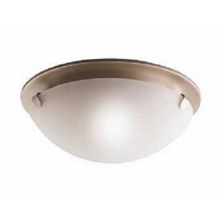 Kichler Brushed Nickel 2 Light Flush Mount Indoor Ceiling Fixture