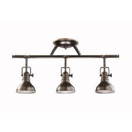 Kichler Olde Bronze Hatteras Bay 3 Light Multi Light Indoor Ceiling Fixture
