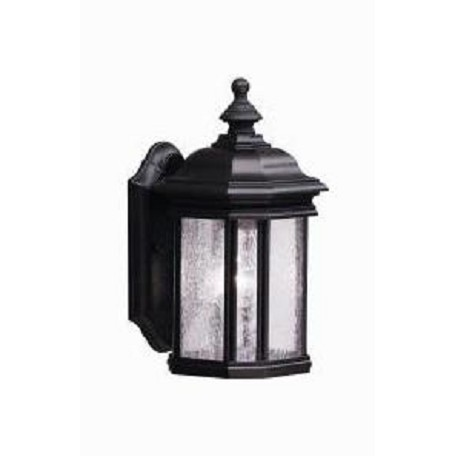 Kichler Black (Painted) Kirkwood Collection 1 Light 13In. Outdoor Wall Light