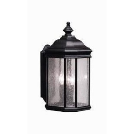 Kichler Black (Painted) Kirkwood Collection 3 Light 21In. Outdoor Wall Light