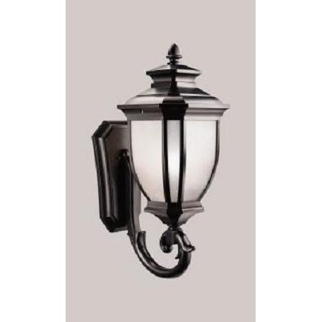 Kichler Black Salisbury Collection 1 Light 29In. Outdoor Wall Light
