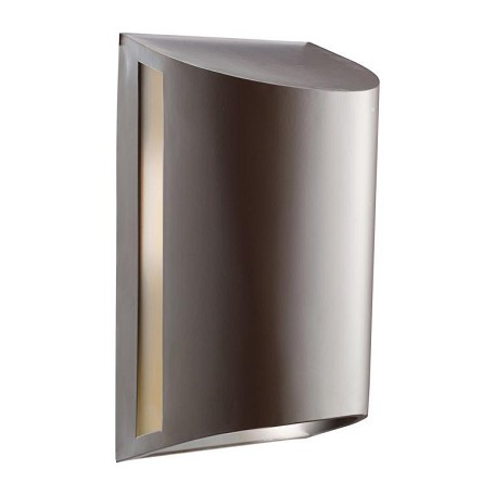 Kichler Architectural Bronze Ada Dark Sky Compliant 1 Light 12In. Outdoor Wall Light