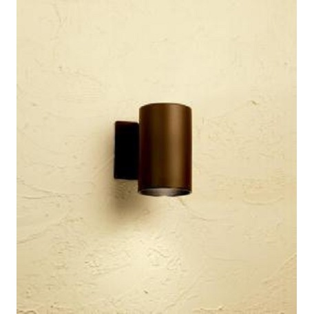 Kichler Architectural Bronze Signature Single Light 7In. Tall Outdoor Wall Sconce