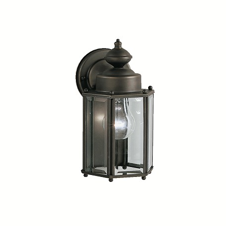 Kichler Olde Bronze New Street Collection 1 Light 10In. Outdoor Wall Light