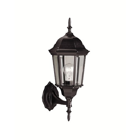 Kichler Black Madison Collection 1 Light 23In. Outdoor Wall Light