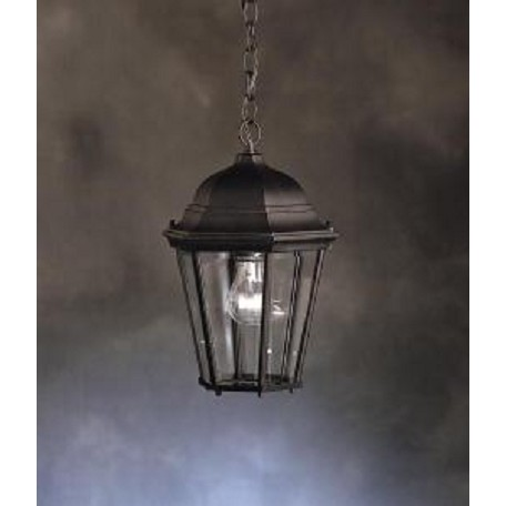 Kichler Black 1 Light Outdoor Pendant From The Madison Collection