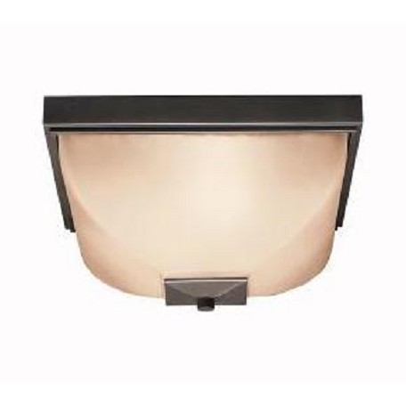 Kichler Two Light Olde Bronze Outdoor Flush Mount