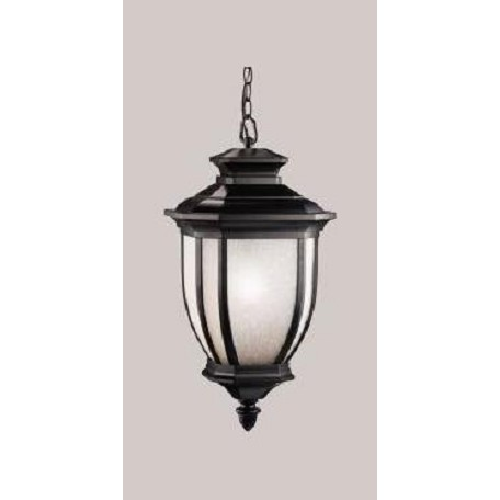 Kichler Black 1 Light Outdoor Pendant From The Salisbury Collection