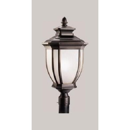 Kichler One Light Rubbed Bronze Post Light