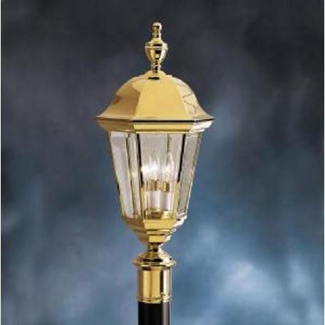 Kichler Polished Brass Lifetime Finish Grove Mill 3 Light