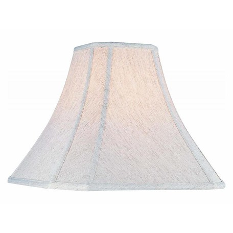 Lite Source Inc. Off-White Height Large Off-White Cut Corner Bell Shade
