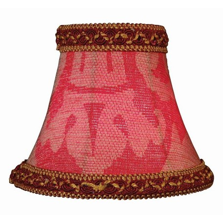 Lite Source Inc. Woven Jacquard Height Woven Jacquard Bell Candelabra Shade
