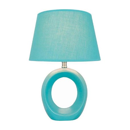 Lite Source Inc. Blue Table Lamp From The Viko Collection