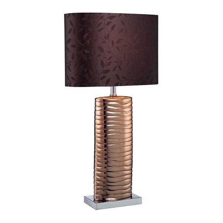Lite Source Inc. Table Lamp With Fabric Shade From The Fantino Collection