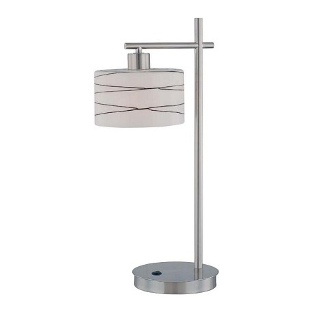Lite Source Inc. Steel 1 Light Table Lamp From The Lenza Collection