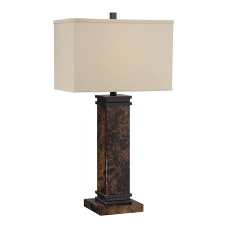 Lite Source Inc. Silver Mauro 1 Light Table Lamp