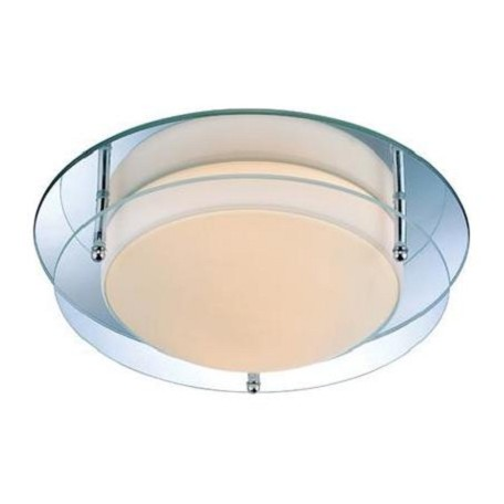 Lite Source Inc. Two Light Ambient Lighting Flush-Mount Ceiling Fixture