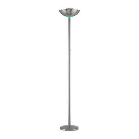 Lite Source Inc. Antique Bronze Halogen Torchiere Lamp From The Basic Ii Collection