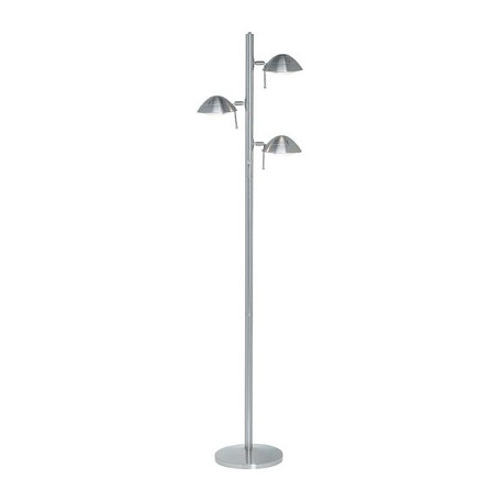 Lite Source Inc. Steel Halogen Tree Lamp With 3 Light From