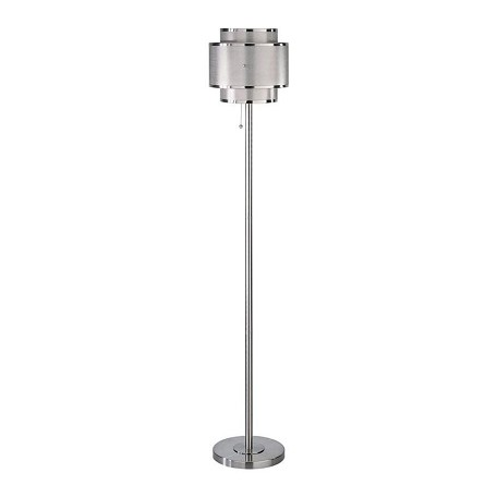 Lite Source Inc. Steel Floor Lamp From The Charisma Collection