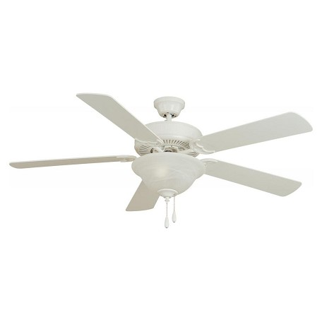Maxim Matte White Ceiling Fan