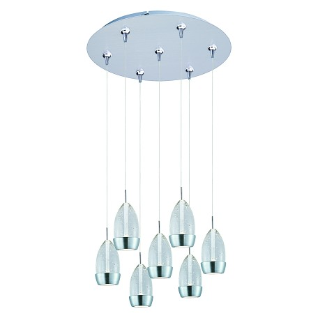 ET2 Luxe 7-Light Led Rapidjack Pendant And Canopy