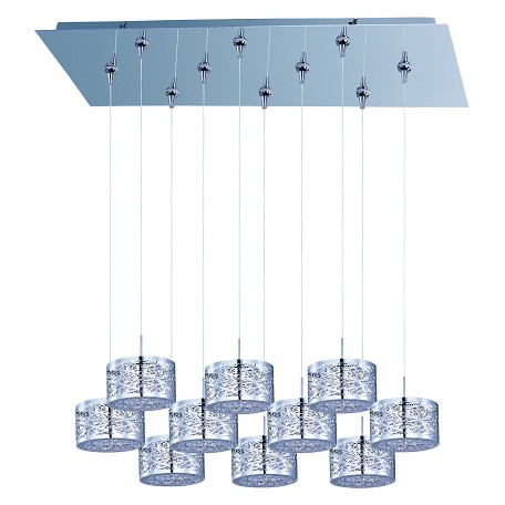 ET2 Inca 10-Light Rapidjack Pendant And Canopy