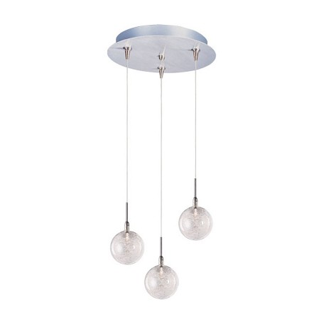 ET2 Starburst 3-Light Rapidjack Pendant And Canopy