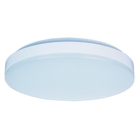 Maxim White White Glass Bowl Flush Mount