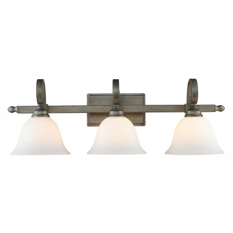 golden champagne bronze three light bathroom fixture peruvian silver 3711 ba3 ps from