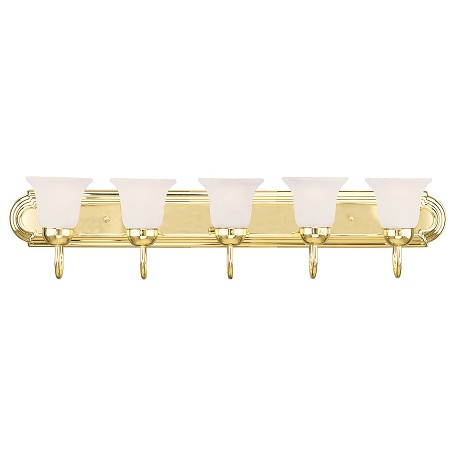 Livex Lighting Polished Brass Vanity Polished Brass 1075 02 From Home Basics Collection