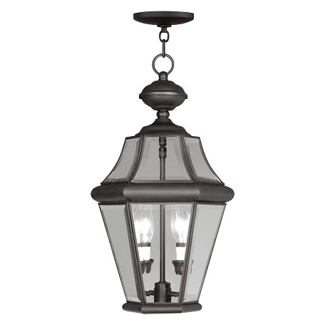 Livex Lighting Bronze Outdoor Foyer Hall Fixture